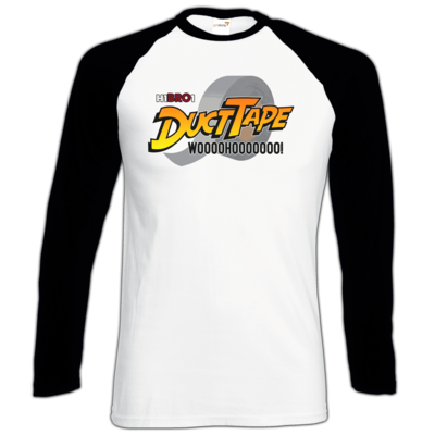 Motiv: Longsleeve Baseball T - DuctTape