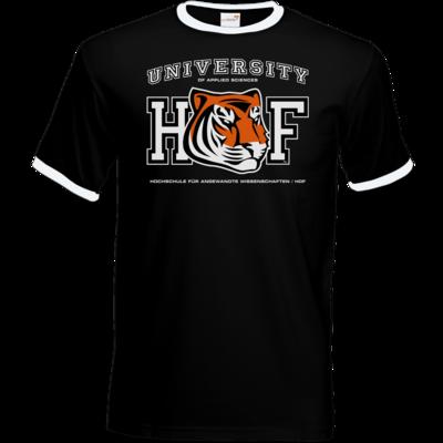 Motiv: T-Shirt Ringer - CampusStore - Tiger