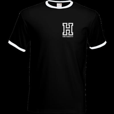 Motiv: T-Shirt Ringer - CampusStore - H-University