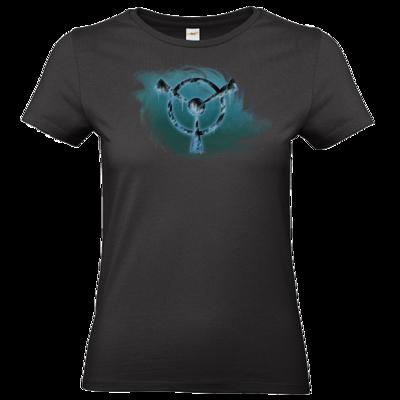 Motiv: T-Shirt Damen Premium FAIR WEAR - Götter und Dämonen - Namenloser Frost