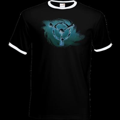 Motiv: T-Shirt Ringer - Götter und Dämonen - Namenloser Frost