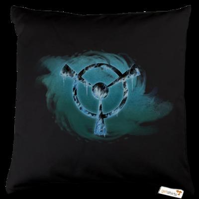 Motiv: Kissen Baumwolle - Götter und Dämonen - Namenloser Frost