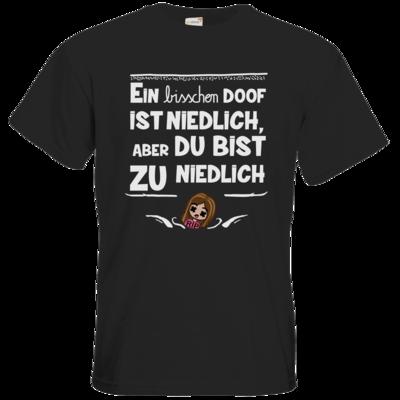 Motiv: T-Shirt Premium FAIR WEAR - zu niedlich