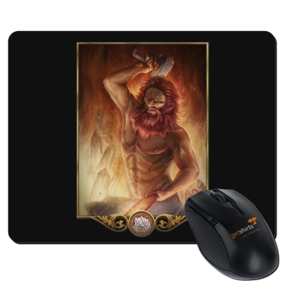 Motiv: Mousepad Textil - Götter - Ingerimm