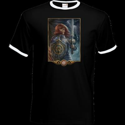 Motiv: T-Shirt Ringer - Götter - Rondra