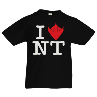 Motiv: Kids T-Shirt Premium FAIR WEAR - I Love NT Cube 2.0