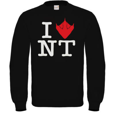 Motiv: Sweatshirt FAIR WEAR - I Love NT Cube 2.0