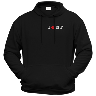 Motiv: Hoodie Premium FAIR WEAR - I Love NT 2.0