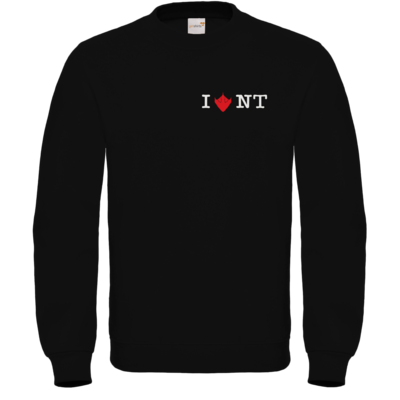 Motiv: Sweatshirt FAIR WEAR - I Love NT 2.0
