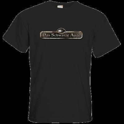 Motiv: T-Shirt Premium FAIR WEAR - Logos - Schriftzug Das Schwarze Auge