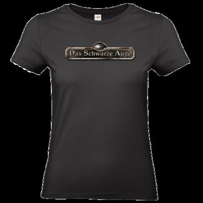 Motiv: T-Shirt Damen Premium FAIR WEAR - Logos - Schriftzug Das Schwarze Auge