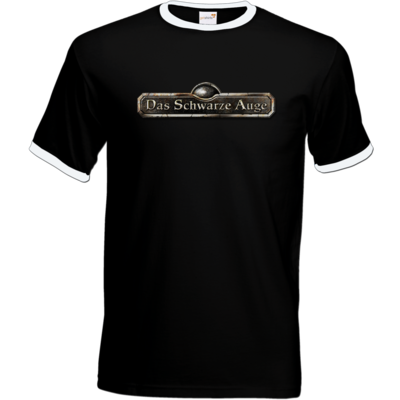 Motiv: T-Shirt Ringer - Logos - Schriftzug Das Schwarze Auge