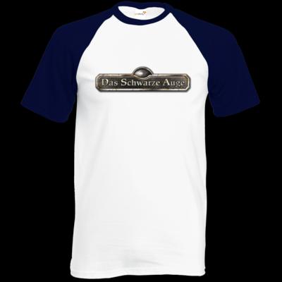 Motiv: Baseball-T FAIR WEAR - Logos - Schriftzug Das Schwarze Auge
