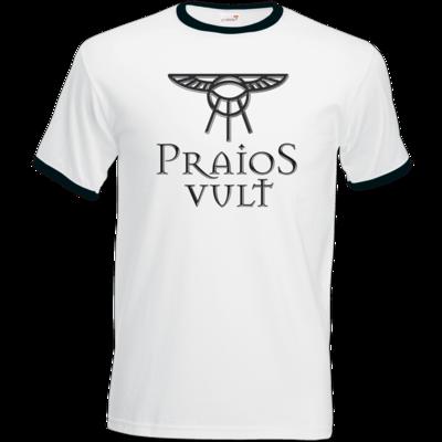 Motiv: T-Shirt Ringer - Sprüche - Götter - Praios Vult