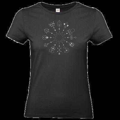 Motiv: T-Shirt Damen Premium FAIR WEAR - Götter und Dämonen - Dämonenkreis