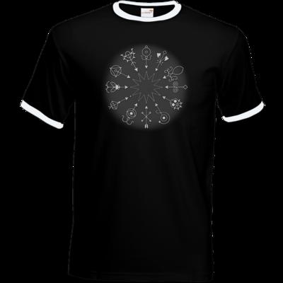 Motiv: T-Shirt Ringer - Götter und Dämonen - Dämonenkreis