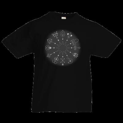 Motiv: Kids T-Shirt Premium FAIR WEAR - Götter und Dämonen - Dämonenkreis