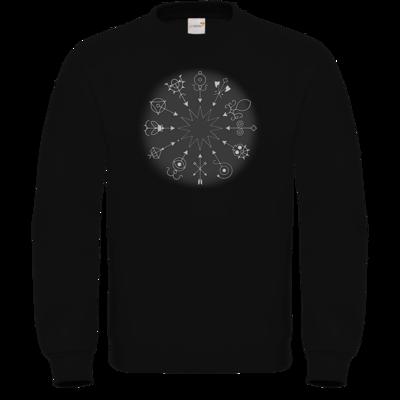 Motiv: Sweatshirt FAIR WEAR - Götter und Dämonen - Dämonenkreis