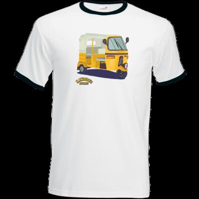 Motiv: T-Shirt Ringer - Kawaida's Journey - Bajaji