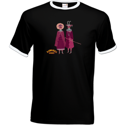 Motiv: T-Shirt Ringer - Kawaida's Journey - Massai
