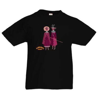 Motiv: Kids T-Shirt Premium FAIR WEAR - Kawaida's Journey - Massai