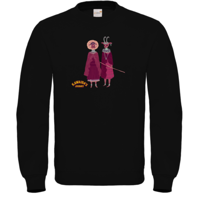 Motiv: Sweatshirt FAIR WEAR - Kawaida's Journey - Massai