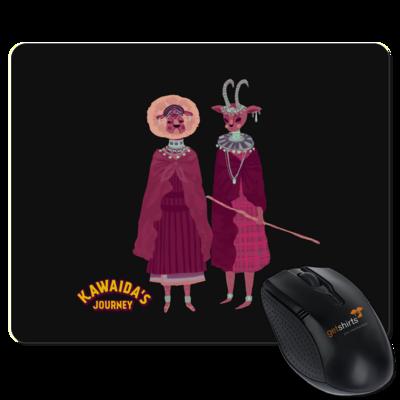 Motiv: Mousepad Textil - Kawaida's Journey - Massai