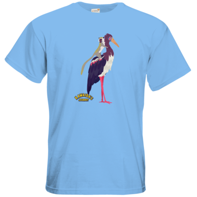 Motiv: T-Shirt Premium FAIR WEAR - Kawaida's Journey - Kawaida Bird