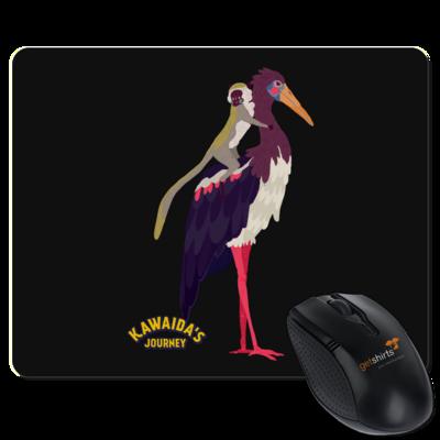 Motiv: Mousepad Textil - Kawaida's Journey - Kawaida Bird