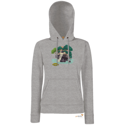Motiv: Hoodie Damen Classic - Kawaida's Journey - Beach House