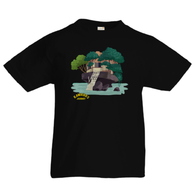 Motiv: Kids T-Shirt Premium FAIR WEAR - Kawaida's Journey - Beach House