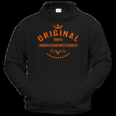 Motiv: Hoodie Classic - Original 100 Prozent Landmaschinenmechaniker - orange