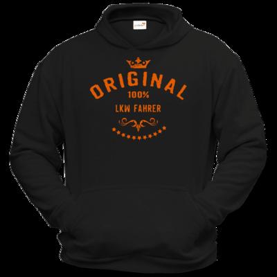 Motiv: Hoodie Classic - Original 100 Prozent LKW Fahrer - orange