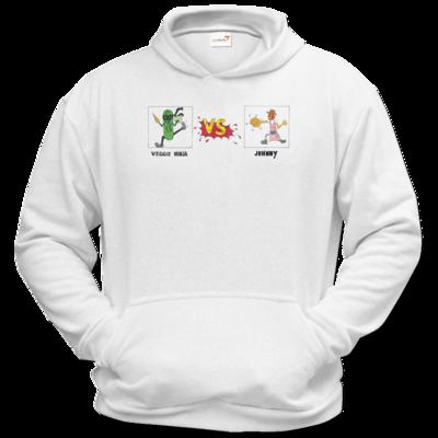 Motiv: Hoodie Classic - Veggie Ninja VS Johnny