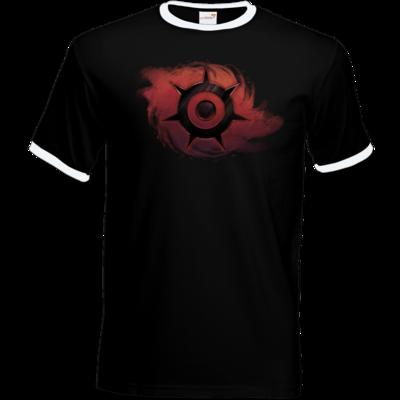 Motiv: T-Shirt Ringer - Götter und Dämonen - Dämonenkrone