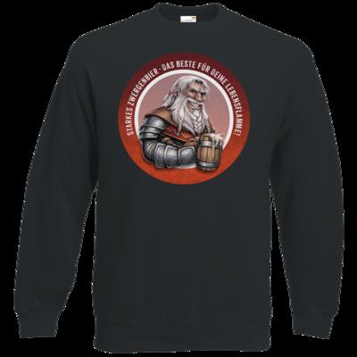Motiv: Sweatshirt Classic - Sprüche - Zwergenbier