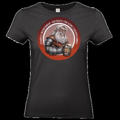Motiv: T-Shirt Damen Premium FAIR WEAR - Sprüche - Zwergenbier