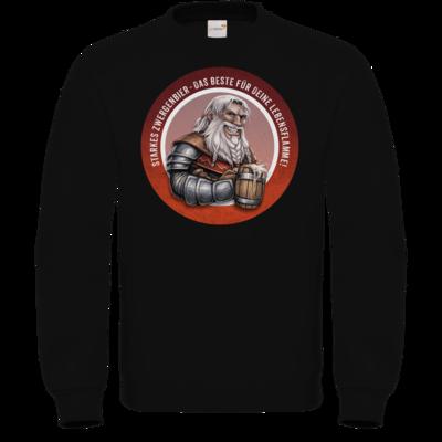 Motiv: Sweatshirt FAIR WEAR - Sprüche - Zwergenbier