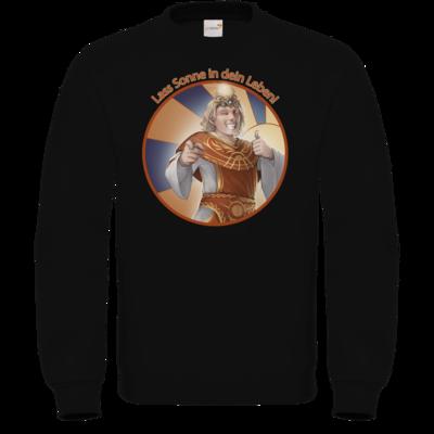 Motiv: Sweatshirt FAIR WEAR - Sprüche - Götter - Praios - Lass Sonne in...