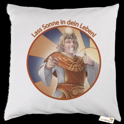 Motiv: Kissen - Sprüche - Götter - Praios - Lass Sonne in...