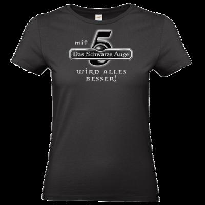 Motiv: T-Shirt Damen Premium FAIR WEAR - Sprüche - Mit DSA5 wird alles besser