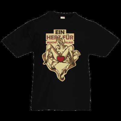 Motiv: Kids T-Shirt Premium FAIR WEAR - Ein Herz fuer Muschiklaus