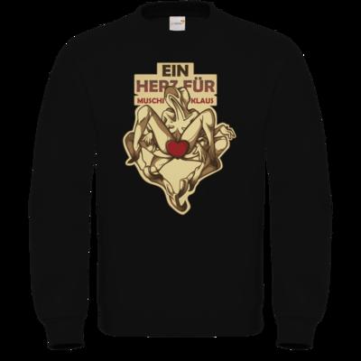 Motiv: Sweatshirt FAIR WEAR - Ein Herz fuer Muschiklaus