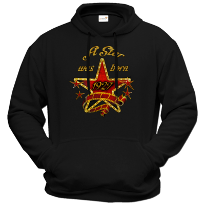 Motiv: Hoodie Premium FAIR WEAR - Geburtstag - Birthday - A Star was born 1927