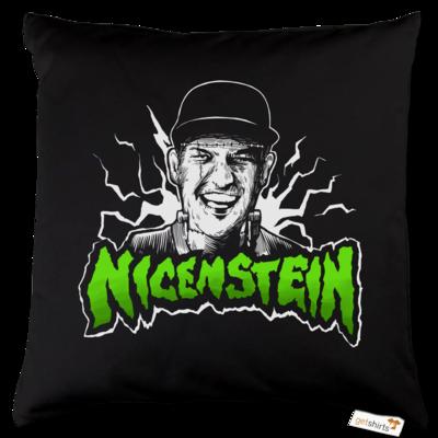 Motiv: Kissen Baumwolle - Black Series - Nicenstein