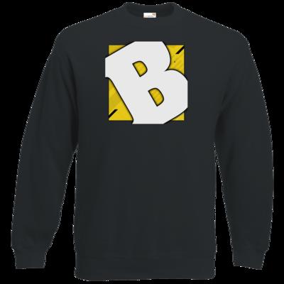 Motiv: Sweatshirt Classic - Badeschlappen - Logo