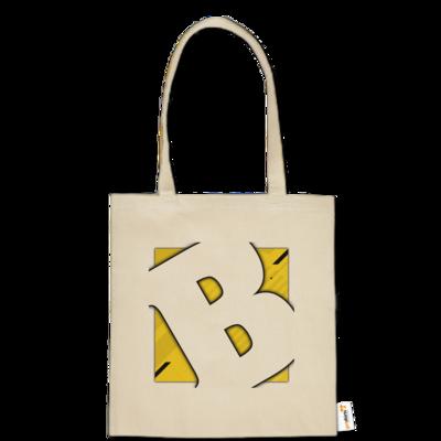 Motiv: Baumwolltasche - Badeschlappen - Logo