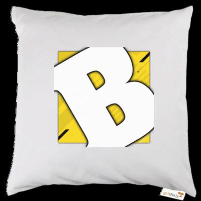 Motiv: Kissen - Badeschlappen - Logo