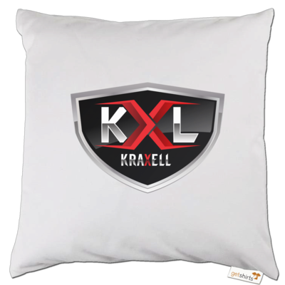 Motiv: Kissen - Kraxell - Logo