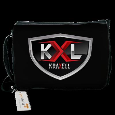 Motiv: Schultertasche - Kraxell - Logo
